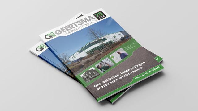 Jubileum Magazine Geertsma