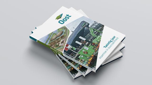 Milieupark 't Oost Jubileummagazine