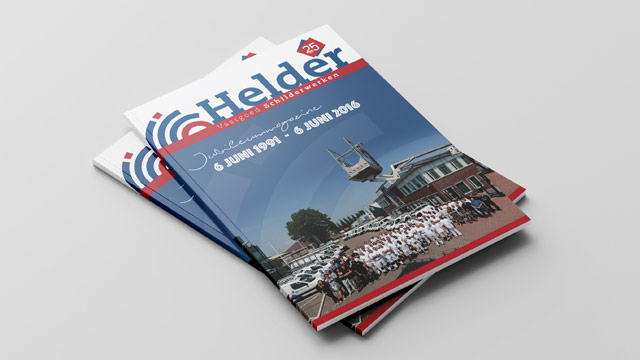 Jubileum Magazine Helder Vastgoed Schilderwerken
